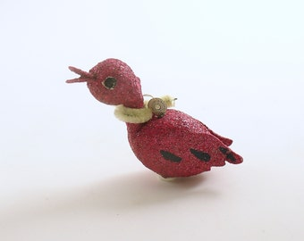 Vintage Christmas Ornament Duck