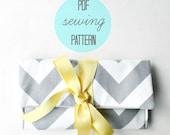 Clutch Purse Pattern, Easy Sewing Pattern PDF,  Printable Sewing Pattern, Bag Pattern PDF
