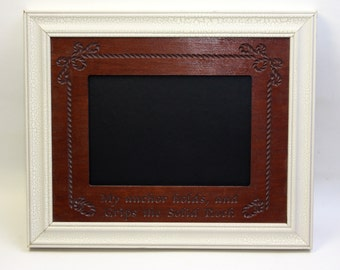 Kitchen Chalkboard Frame Sign 8x10 Frame Photography Prop Christian My Anchor Holds