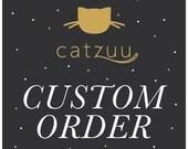 Custom Handlettering and Illustration Name Print