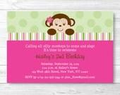 Cute Girl Birthday Invita...
