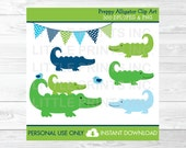 Preppy Alligator Clipart ...