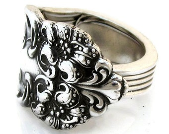 Spoon Ring Tiger Lily 1901 Size 5 6 7 8 9 10 11 12 13 14 15