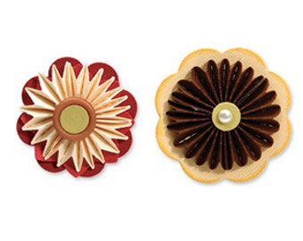 Sale, Sizzix Accordion Fold Flowers Set, 657093