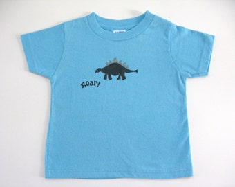 Dinosaur Tee or Top, Baby or Toddler, Dinosaur Theme, Dinosaur Outfit, Birthday Party Shirt, Dino Lover, Hand Painted T Shirt, Short Sleeves