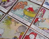 Vintage Rupert illustrations - book reclamation - collage ephemera - found papers - RUPERT the BEAR -25