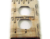 Light Switch Cover Outlet Wall Decor Switchplate Switch Plate in Symphony   (157O)