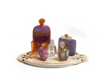 Miniature Perfume Vanity set 7