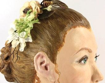 Woodland Hair Clip Comb Headband Wedding Wear