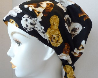 Cuddly Puppy Cancer Hat Chemo Scarves Head Wrap Hair Loss Turban Headcovering Bad Hair Day Hat