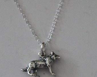 Sterling Silver 3D WOLFPendant and 18 Inch Chain - Music, Harmonica, Instrument