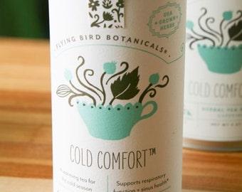 0405 Cold Comfort organic loose leaf tea