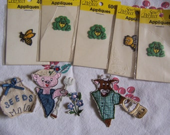 adorable bunch of appliques