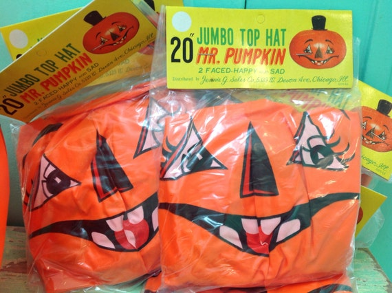 Vintage Blow Up Jack O Lanten