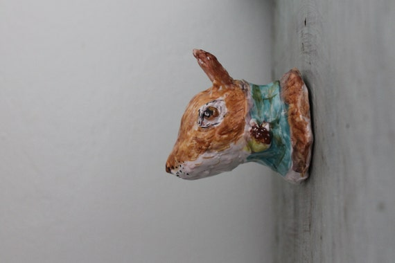 bust of squirrel