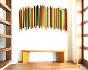 Wood Wall Art | Original Wall Art | Natural Wood Modern Art | Rosemary Pierce Modern Art