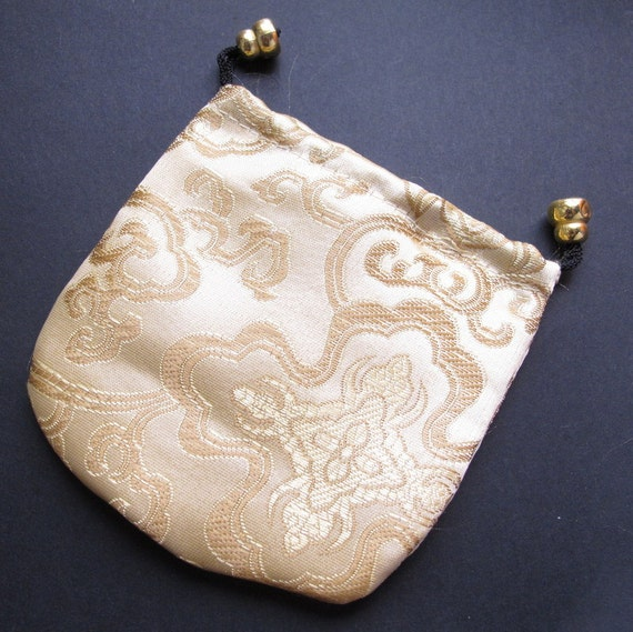 items similar to silk drawstring bag jewelry pouch small