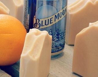 Natural Blue Moon Beer Soap - Valentine Gifts for Men