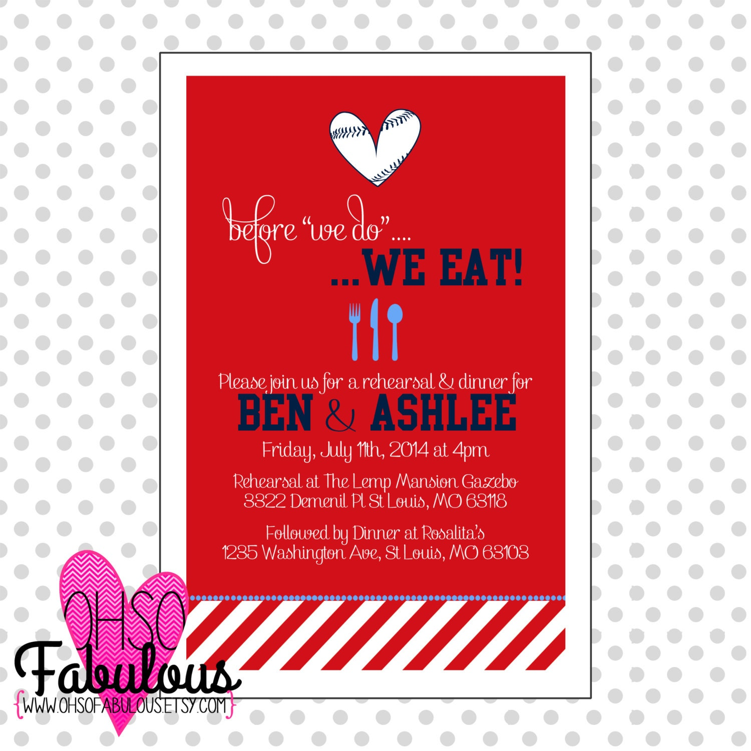 rehearsal dinner invitation custom wording colors 2216585 weddbook ...
