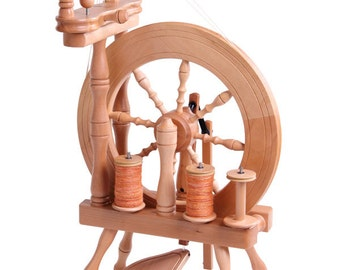 Ashford Traveller Double Drive Spinning Wheel - Free Shipping