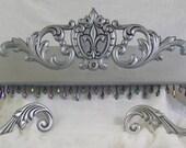 Fleur de lis bed crown all included options