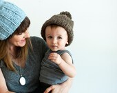 The Mini Sparrow + Toddler Chunky Knit Hat + Made to Order