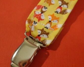 ALL BRAND Pacifier Clip - Mr Fox