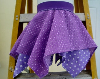 IRREGULAR Skirt in Two Tones of Purples @@@ Sizes 2T and 3T@@