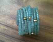 SARGASSO memory wire cuff bracelet