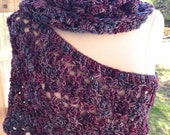 Giant Cowl, Scarf or Vest Crochet Pattern Loose Version of the Katniss Cowl