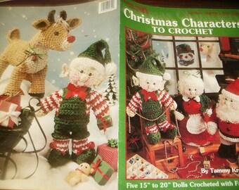 Holiday Crochet Patterns Christmas Characters Leisure Arts 2690 Tammy Kreimeyer  Crocheting Patterns Leaflet