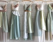 Custom Long Maxi Bridesmaids Dresses
