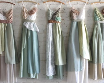 Custom Long Maxi Bridesmaids Dresses