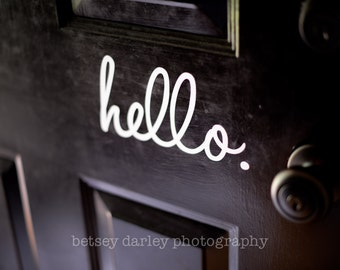 Hello for your front door