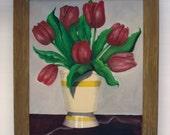 Tulips - original oil painting