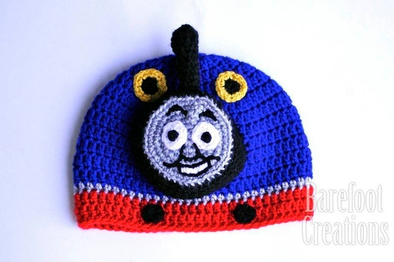 Character Train Hat - Everyone's Favourite Train - Newborn - Adult