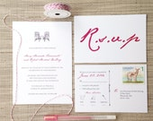 Adirondack Chair Wedding Invitations