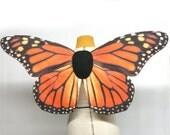 Realistic Monarch Butterfly Costume Wings Halloween Orange, Fairy Wings, Butterfly Wings