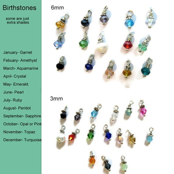 Add Birthstone Crystal