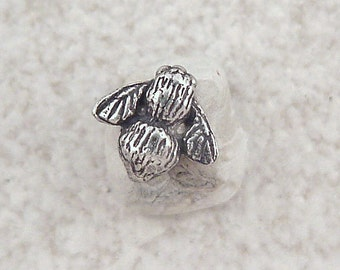 Green Girl Studios Tiny Bee Pewter Button