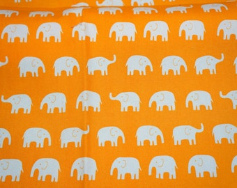 Elephant Print Japanese Fabric  (n451)