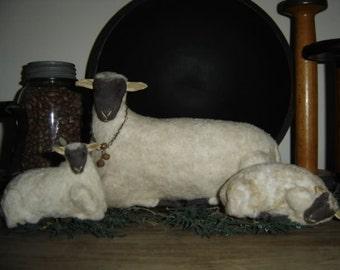 Countryside Sheep Pattern