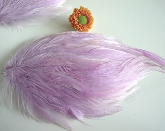 FEATHER PAD / Wisteria  Purple / 73