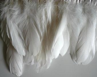 GOOSE  NAGOIRE FRINGE, Pearl White / 468