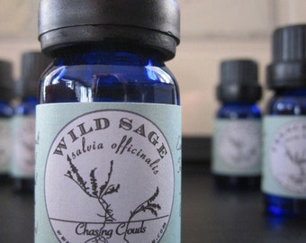 Sage Essential Oil - Certified Organic