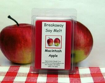 Macintosh Apple Breakaway Clamshell Soy Wax Tart Melts