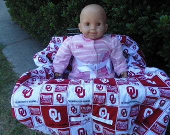 OU baby shopping cart cover/ high chair cover
