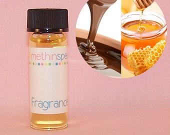Chocolate Honey Love Perfume Oil Sample - Honey, Cocoa Butter, Chocolate