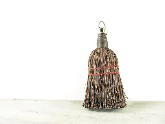 Vintage Wooden Hand Broom / Sweeper