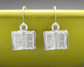Book Earrings Dangle Bookish Jewelry